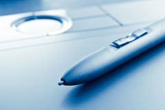 Electronic pen Royalty Free Stock Images