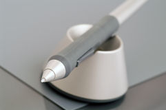 Electronic pen. Is laying prop Stock Photo