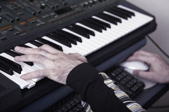 The electronic piano Stock Image