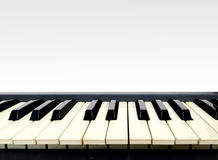 Electronic Piano Keyboard Royalty Free Stock Photos