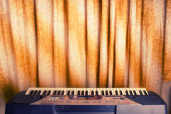 Electronic Piano Keyboard Stock Photography