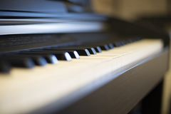 electronic piano, electronic piano Royalty Free Stock Images
