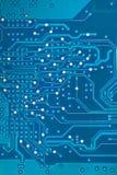 Electronic printed circuit board. Royalty Free Stock Image