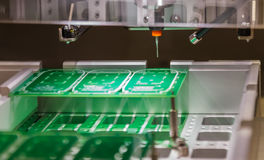 Electronic printed circuit Board Royalty Free Stock Photos