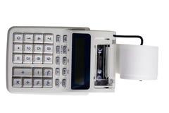 Electronic printing calculator Stock Photography