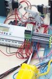 Electronic prototyping Royalty Free Stock Image