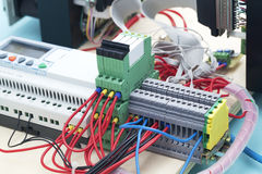 Electronic prototyping Stock Photo