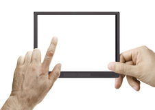 Electronic Reader Stock Photo