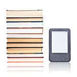Electronic reader of books Royalty Free Stock Image