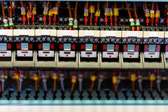 Electronic relays. Stock Photos