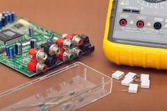 Electronic repair Stock Images