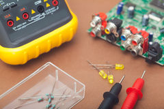 Electronic repair Stock Images