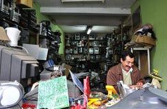 Electronic Repair Man Royalty Free Stock Photos