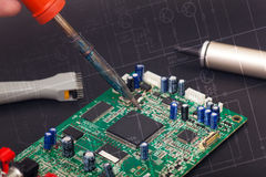 Electronic reparation Royalty Free Stock Photo