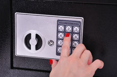 Electronic safe Stock Images