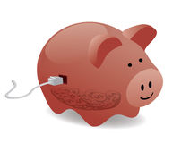 Electronic savings Stock Images