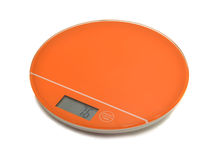 Electronic scales Stock Image