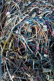 Electronic Scrap background. Close up image of Electronic Scrap background texture royalty free stock photography