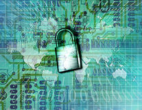 Electronic Security Royalty Free Stock Photo
