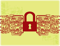 Electronic security system Stock Photos