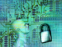 Electronic Security Stock Photo