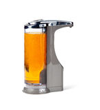 Electronic soap dispenser. Modern soap or disinfectant dispenser which works via a sensor royalty free stock photos