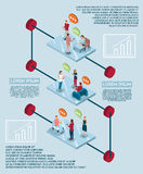 Electronic Speech Infographic Concept Stock Images
