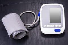 Electronic sphygmomanometer Royalty Free Stock Image