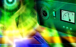 Electronic stabilizer Stock Image