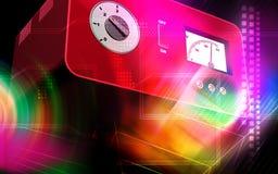 Electronic stabilizer Royalty Free Stock Image