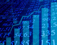 Electronic stock numbers Stock Photography
