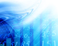 Electronic stock numbers Stock Photos