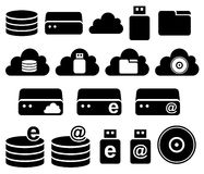 Electronic storage Royalty Free Stock Photos