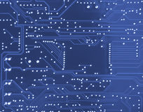Electronic system board Royalty Free Stock Photo