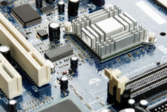 Electronic system board Stock Photo