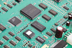 Electronic system board Royalty Free Stock Photography