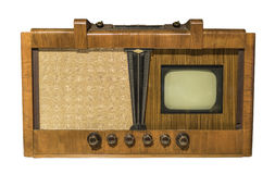 Electronic television. Production in 1948 Stock Photography
