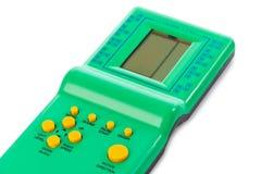 Electronic tetris game Stock Photo