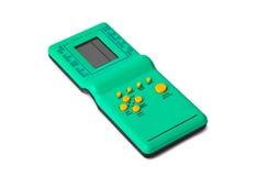 Electronic tetris game Royalty Free Stock Photography