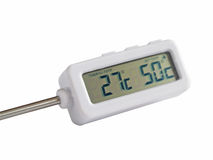 Electronic thermometer Stock Photos