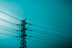 Electronic tower Royalty Free Stock Photo