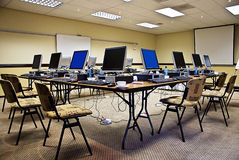 Electronic Training Conference royalty free stock photo
