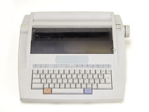 Electronic typewriter Royalty Free Stock Photo