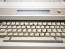 Electronic Typewriter. Closeup of keyboard of an electronic typewriter royalty free stock photos