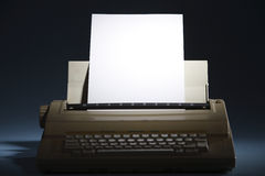 Electronic Typewriter Stock Image