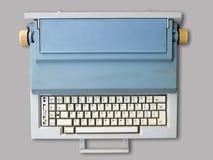 Electronic typewriter with Polish keypad royalty free stock images
