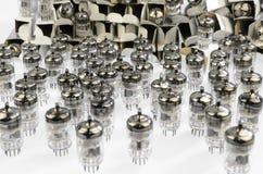 Electronic vacuum tube Stock Image
