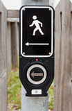 Electronic Walk Signal Royalty Free Stock Photos