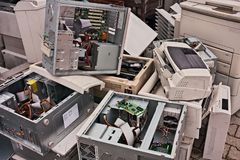 Electronic waste Royalty Free Stock Photography