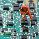 Electronic world 2 Royalty Free Stock Image